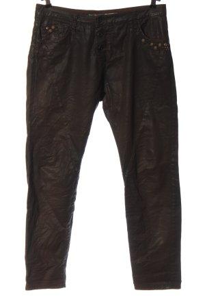 Please Jeans skinny brun style décontracté