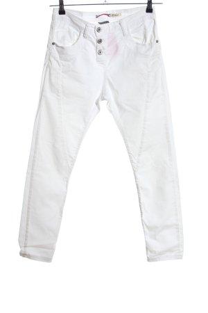 Please Slim Jeans weiß Casual-Look