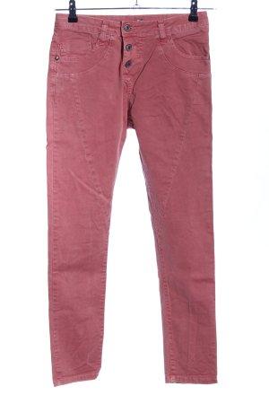 Please Slim Jeans pink Casual-Look