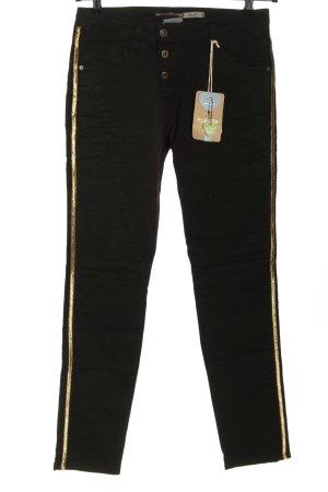 Please Slim Jeans schwarz Casual-Look