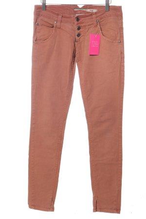 Please Slim Jeans hellorange Casual-Look