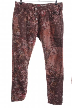 Please Stoffhose Allover-Druck Casual-Look