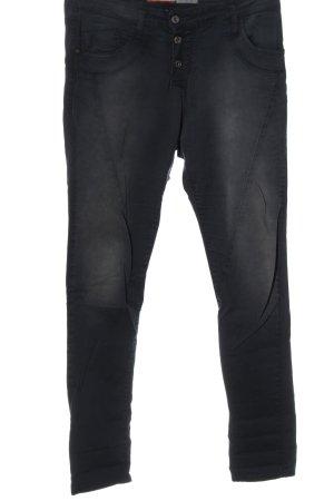 Please Spodnie materiałowe jasnoszary W stylu casual