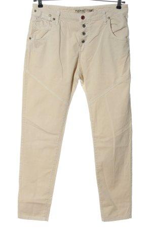Please Jersey Pants cream casual look