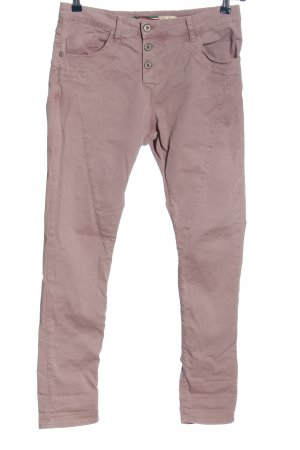 Please Stoffhose pink Casual-Look