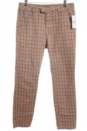 Please Stoffhose abstraktes Muster Street-Fashion-Look
