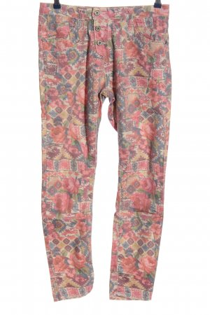Please Jersey Pants allover print casual look