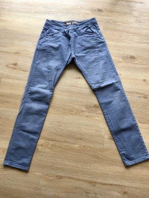 Please Pantalon chinos bleu azur-bleu acier