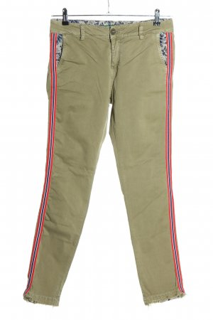 Please Stoffhose khaki Casual-Look