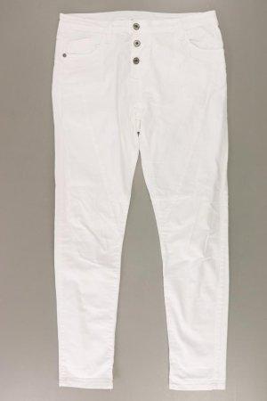 Please Straight Jeans Größe 42 weiß aus Baumwolle