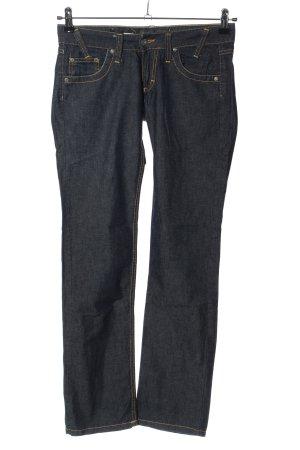 Please Straight-Leg Jeans blau Casual-Look