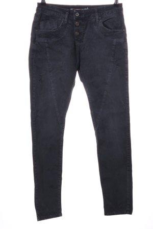 Please Stretch Jeans schwarz Casual-Look