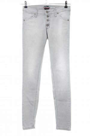 Please Stretch Jeans hellgrau Casual-Look