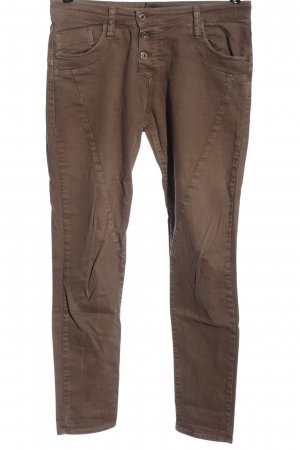 Please Stretch Jeans braun Casual-Look