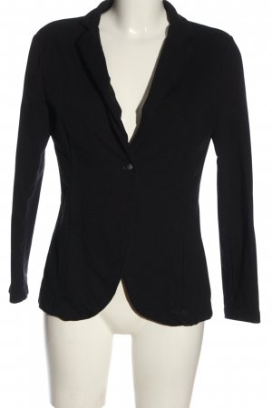 Please Strickblazer schwarz Casual-Look