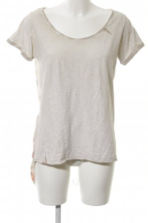 Please T-Shirt Allover-Druck Casual-Look