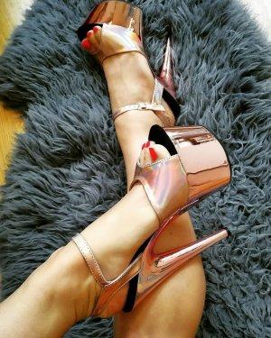 Pleaser High Heels Rosegold 36