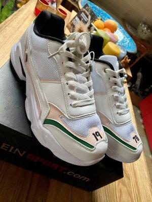 Plein Sport Runner Original Sneaker Schuhe Weiß Rosé bunt Gr 41 neu