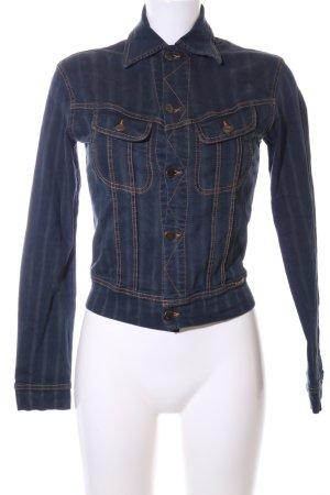 Plein Sud Jeans Jeansjacke blau Casual-Look