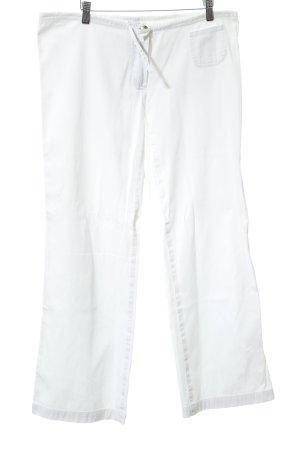 Plein Sud Jeans Straight-Leg Jeans weiß schlichter Stil