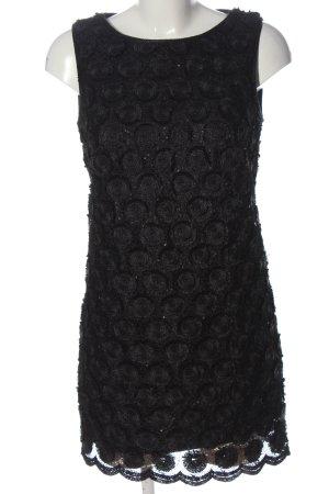 Plein sud Mini vestido negro-gris claro elegante