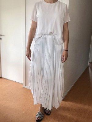 Hugo Boss Plaid Skirt white-dark blue