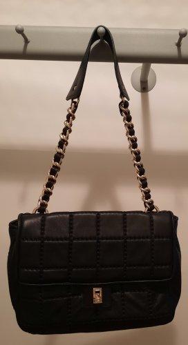 Plinio Visona Éventail noir cuir