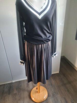 Mavi Pleated Skirt silver-colored