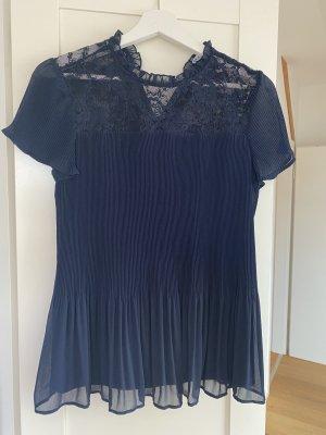 Orsay Blusa in merletto blu scuro-blu