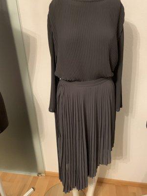 Plissee Chiffon Bluse Oversize Look Gr 36 38 S von Fashion