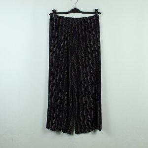 PLISSEE Culottes Gr. S schwarz bunt High Waist (20/10/361*)