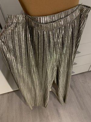 bpc bonprix collection pantalon plissé  argenté