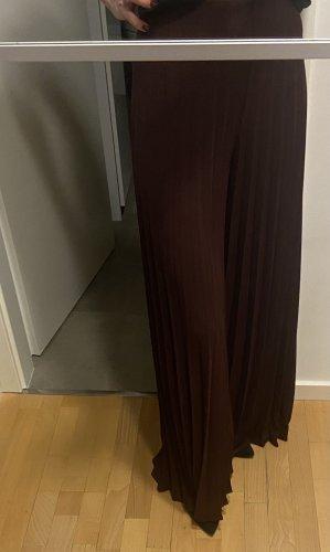Zara Woman Pallazzobroek bordeaux