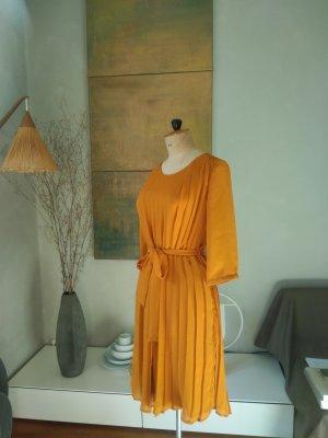 Mint&berry Midi Dress dark orange polyester