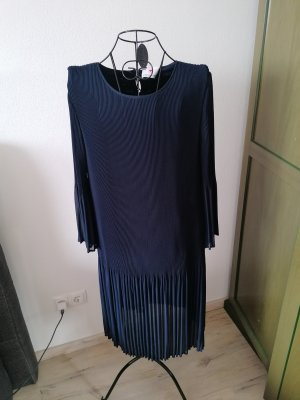 Herzensangelegenheit Sukienka midi ciemnoniebieski