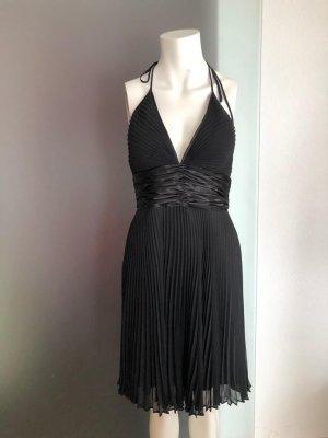 Plissee Kleid Neckholder Gr 36 S von Esprit