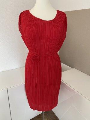 S.Oliver Premium Empire Dress red-dark red