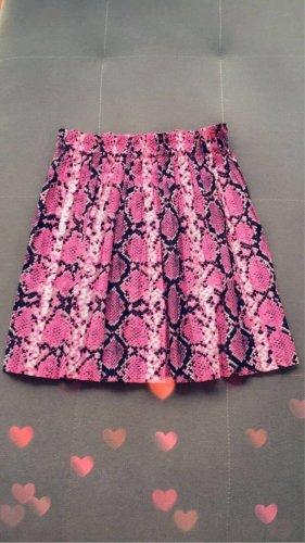 Amisu Falda plisada rosa Poliéster
