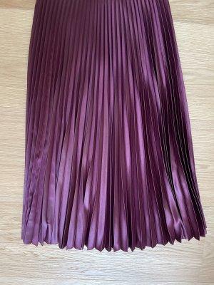 Ted baker Jupe plissée violet