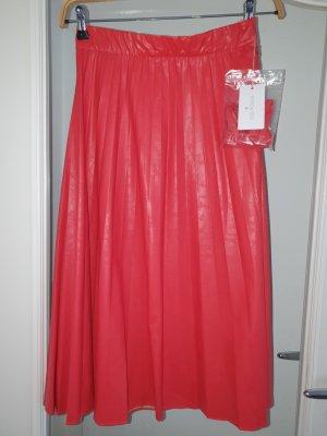 Patrizia Pepe Jupe plissée rouge clair