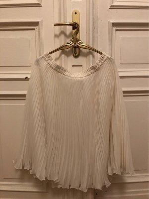 Unbekannte Marke Pleated Skirt white