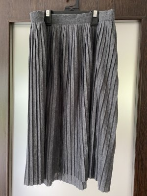 About You Pleated Skirt grey