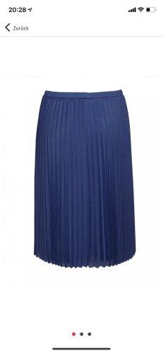 Cinque Falda plisada azul oscuro
