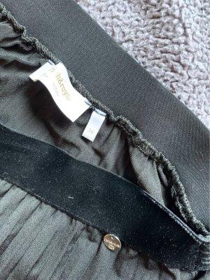 Rich & Royal Jupe plissée noir