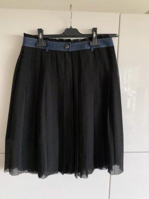 Diesel Jupe plissée noir