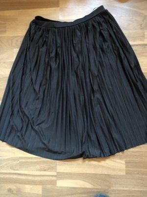 Vero Moda Plisowana spódnica czarny