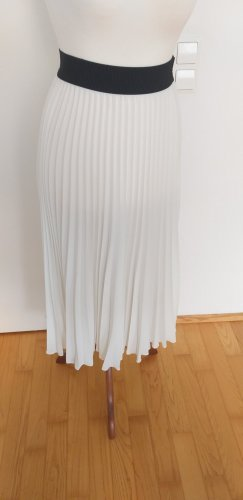 Shirtaporter Pleated Skirt white