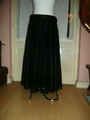 LUX. Pleated Skirt black