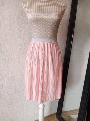Sinsay Plisowana spódnica jasny różowy-różowy