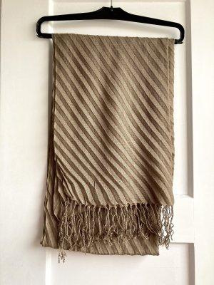 Vintage Crinkle Scarf grey brown